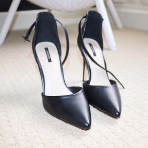 Forever 21 Shoes - Forever 21 Black Strappy Heels
